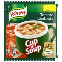 KNORR INSTANT SOUP TOMATO CHATPATA 16GM